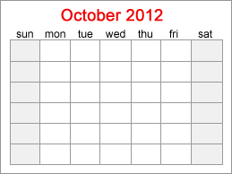Printable Calendars - A free printable calendar. Fast and easy to print.