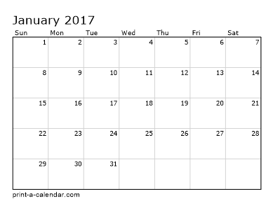 make your own 2016 2017 or 2018 printable calendar pdf