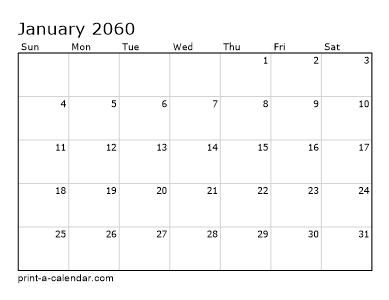 Calendario 2060.Make Your Own 2059 2060 Or 2061 Printable Calendar Pdf
