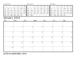 calendar 2017 printable monthly